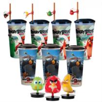 Angry Birds I-II pohár és topper szett