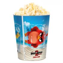 Angry Birds 2 dombornyomott popcorn vödör