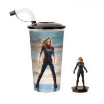Marvel Kapitány pohár és Ms. Marvel topper