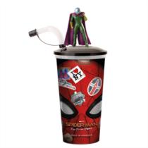 Pókember - Idegenben pohár és Mysterio topper