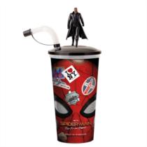 Pókember - Idegenben pohár és Nick Fury topper