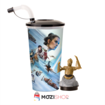 Star Wars: Skywalker kora pohár és C-3PO topper