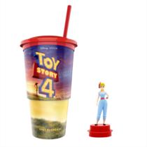 Toy Story 4 pohár és Bo Peep topper