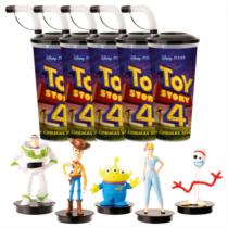 Toy Story 4 pohár és topper szett