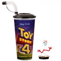 Toy Story 4 pohár és Forky topper