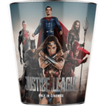 Az Igazság Ligája dombornyomott popcorn vödör - A karakterek II.
