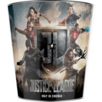 Az Igazság Ligája dombornyomott popcorn vödör - Justice League logóval