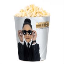 Men in Black - Sötét zsaruk a Föld körül dombornyomott popcorn vödör