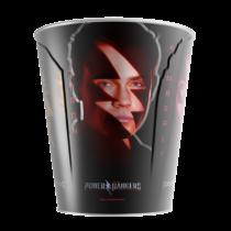 Power Rangers fém popcorn vödör - A karakterek nevével