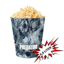 Predator - A ragadozó 'giga' dombornyomott popcorn vödör (6,8 literes)