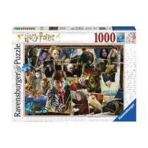 Harry Potter kollázs puzzle - 1000 db-os