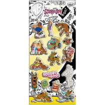 Scooby Doo pufi matrica szett