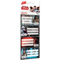 Star Wars: Az utolsó Jedik füzetcímke 12 db-os szett