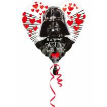 Star Wars fólia lufi - I love Darth Vader (43 cm-es)