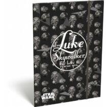 Star Wars gumis mappa A/4 - Luke Skywalker