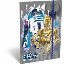 Star Wars gumis mappa A/4 - R2-D2 és C-3PO