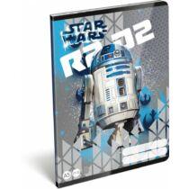 Star Wars kockás füzet A/5 - R2-D2