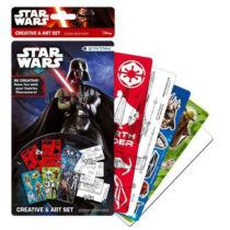 Star Wars matrica és dekorációs sablon szett