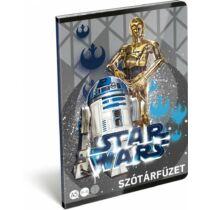 Star Wars szótárfüzet A/5 - Droidok