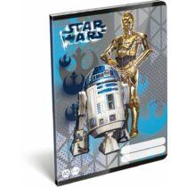 Star Wars vonalas füzet A/5 - Droidok