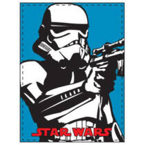 Star Wars plüss takaró - Rohamosztagos