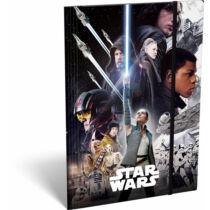 Star Wars: Az utolsó Jedik gumis mappa A/4