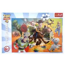 Toy Story 4 A világ játékai 160db-os puzzle