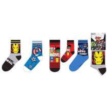 Bosszúállók gyerek zokni - 31-34 méret - Több változatban