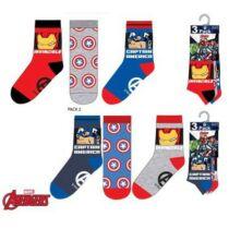 Bosszúállók gyerek zokni szett - 23-26 méret - Több változatban