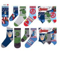 Marvel Bosszúállók gyerek zokni szett - Több változatban