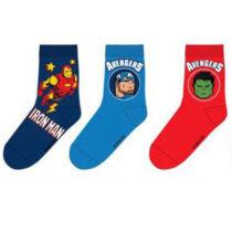 Bosszúállók gyerek zokni szett (27-30 méret)
