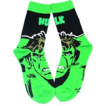 Hulk felnőtt zokni (35-41 méret)
