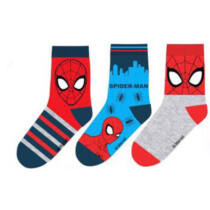 Pókember gyerek zokni szett (27-30 méret)