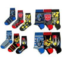 Transformers gyerek zokni szett - Két változatban