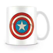 Amerika Kapitány bögre - Pajzs