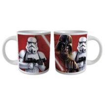 Star Wars porcelán bögre - Darth Vader és Rohamosztagos