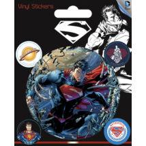 Superman matrica szett