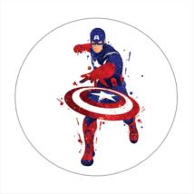 Amerika Kapitány hűtőmágnes I.