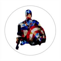 Amerika Kapitány hűtőmágnes III.