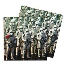 Star Wars: Az ébredő Erő két rétegű papírszalvéta 33x33cm 20 db