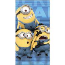 Minyonok törölköző, fürdőlepedő - Kevin, Stuart és Bob