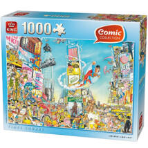 Comic puzzle - Times Square 1000db-os