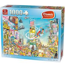 Comic puzzle - Times Square 1000db-os