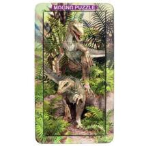 3D Magna Portrait Raptor mágneses kirakó