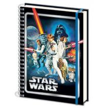 Star Wars: Egy új remény jegyzetfüzet A4