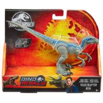 Jurassic World: Támadó Velociraptor Kék játékfigura