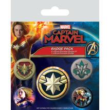 Marvel Kapitány kitűző szett