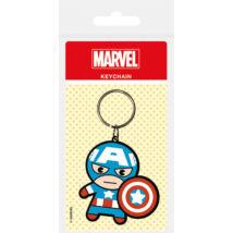 Marvel Kawaii - Amerika Kapitány kulcstartó