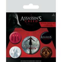 Assassin's Creed kitűző szett