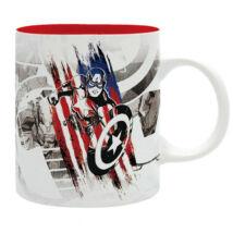 Marvel Amerika Kapitány bögre